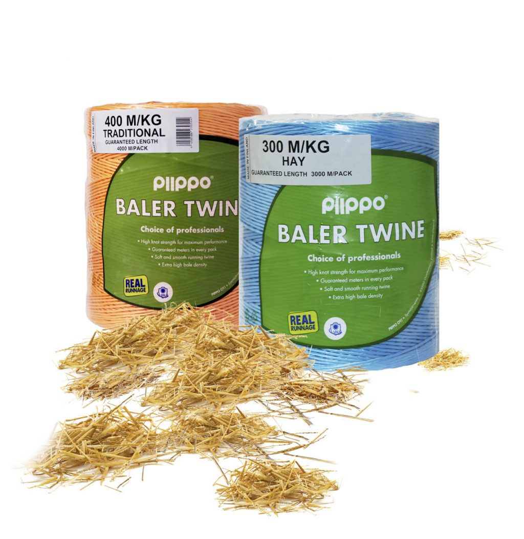 Conventional baling, traditional baling twine – Piippo – Focus on Feed