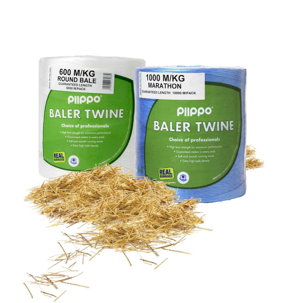 Round baling, round baler twines – Piippo – Focus on Feed